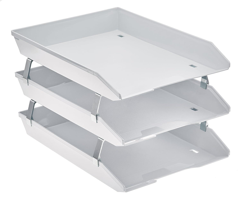 Acrimet Facility Briefablage dreifach Hochformat Design (A4 format)(Weiß ) 265.6