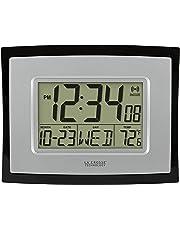 La Crosse Technology wt-8002u Digital Reloj de Pared