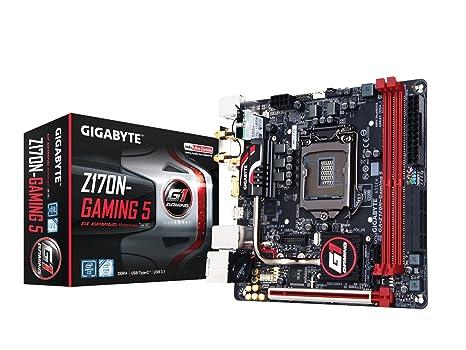 GIGABYTE GA-Z170N-Gaming 5 - Placa Base (Intel, LGA 1151 (Zócalo H4), Intel® Celeron®, Intel® Pentium®, i3-6xxx,i5-6xxx,i7-6xxx, DDR4-SDRAM, DIMM)