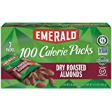 Emerald Nuts, Dry Roasted Almonds 100 Calorie Packs, 0.63 Ounce (Pack of 84)