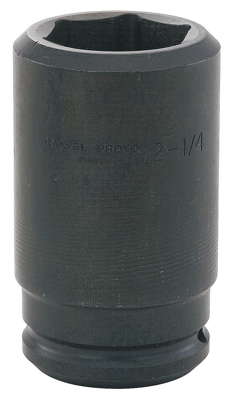Stanley Proto J15053L Proto 1-1//2-Inch Drive Deep Impact Socket