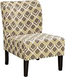 Signature Design by Ashley 5330560 Contemporary Accent Chair, Gunmetal
