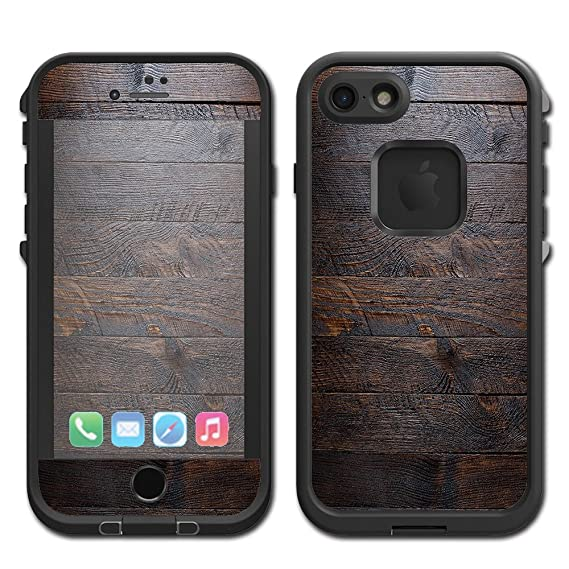 5eac2d76e04ba3 Image Unavailable. Image not available for. Color: Skin Decal Vinyl Wrap  for Lifeproof Fre Apple iPhone 7 Case stickers skins cover/ Wooden