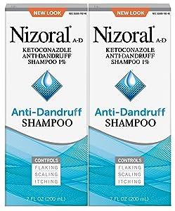 Nizoral Anti-dandruff Shampoo Value 7oz Twinpack, 14 Fl Ounce (20053076192630)