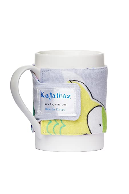 Calentador de taza Reversible Kajamaz ajustable de franela, taza de mezcla de especias, taza