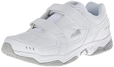 Avia Avi-Union Strap Work Shoes - Men's Size 12 X White