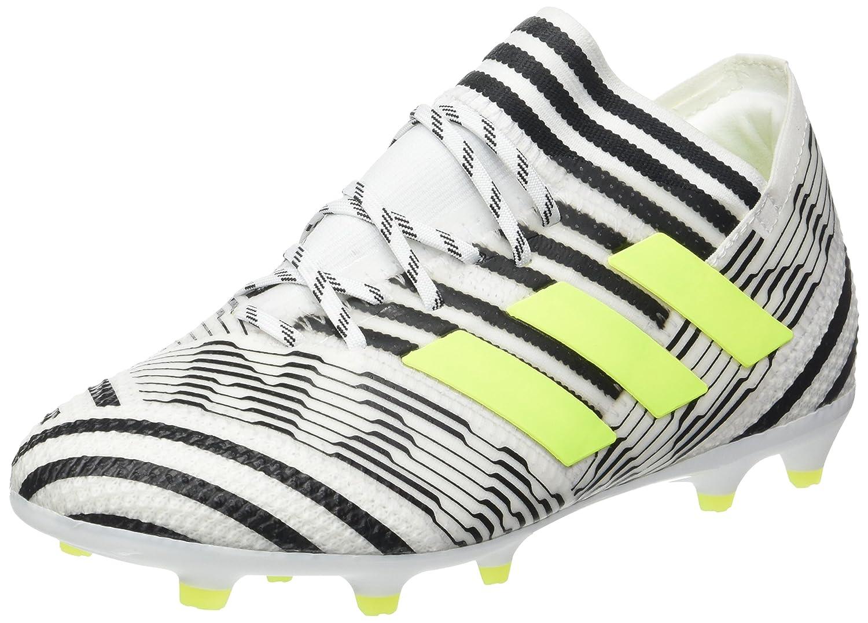 adidas Jungen NEMEZIZ 17.1 Fg J Fuszlig;ballschuhe  35 EU|Wei? (Footwear White/Solar Yellow/Core Black)