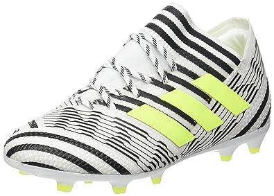 4352ec72a adidas Unisex Kids' Nemeziz 17.1 Fg Footbal Shoes, Multicolor (Ftwr  White/solar