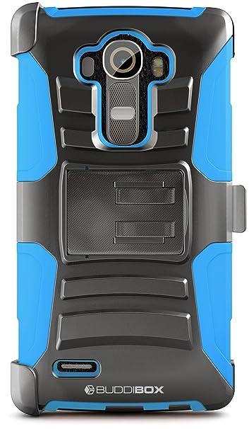 Amazon.com: LG G4 hseries casos, buddibox, Azul: Cell Phones ...