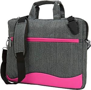 15.6 Inch Laptop Messenger Bag for Dell Latitude 3500 3590 5500 5501 5590 5591 5520 7520, Precision 3520 3530 3540 3541 3560 5520 5530 5540 7520 7530 7540, XPS 7590 7590 9570 9575
