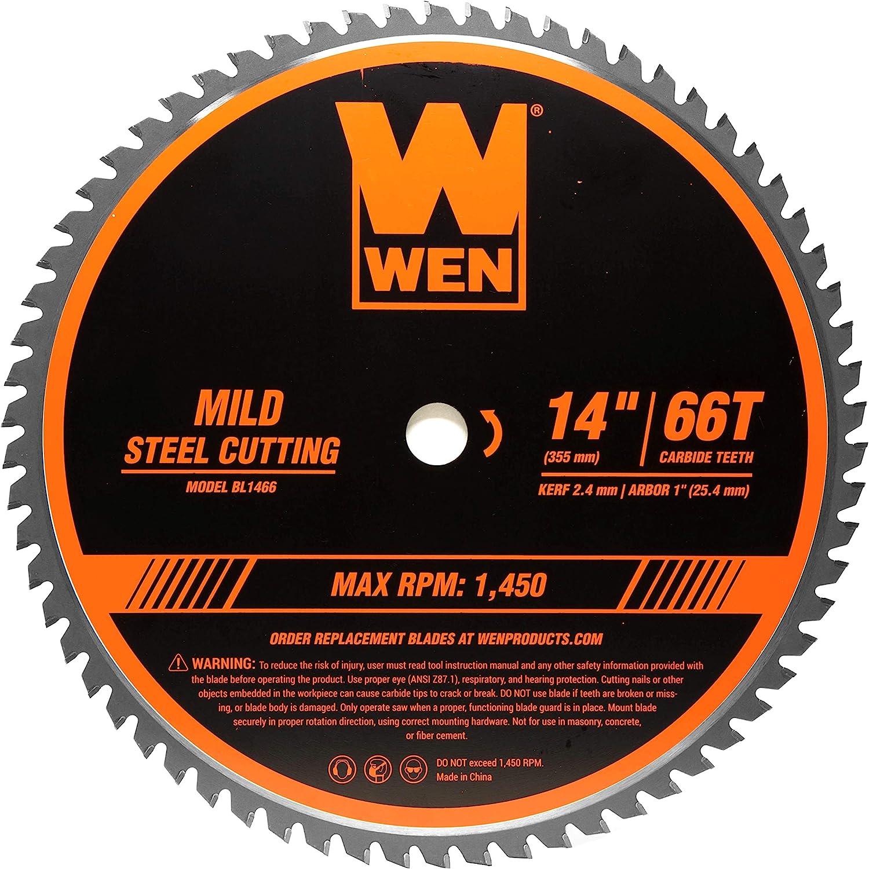 WEN 14 Inch Carbide-Tipped Metal Saw Blade