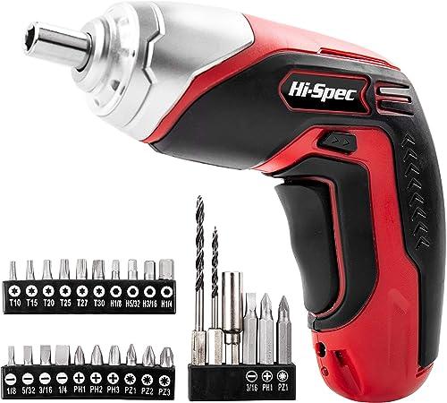 Amazon.com: Hi-Spec, desarmador con batería de ...