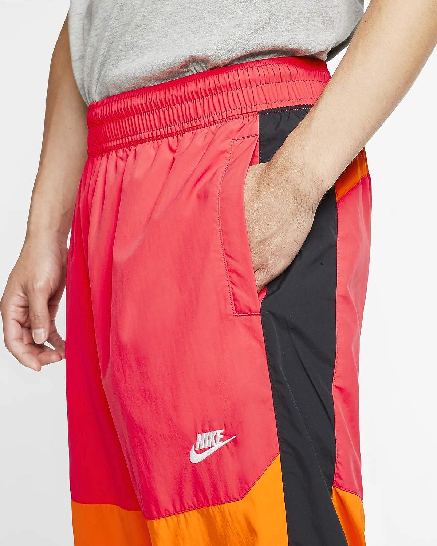 Desconocido Men's Nike Sportswear Jacket Ember Glow/Bright Ceramic/Black/White
