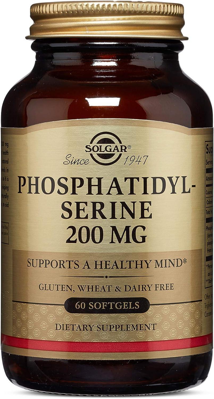 Solgar – Phosphatidylserine 200 mg, 60 Softgels