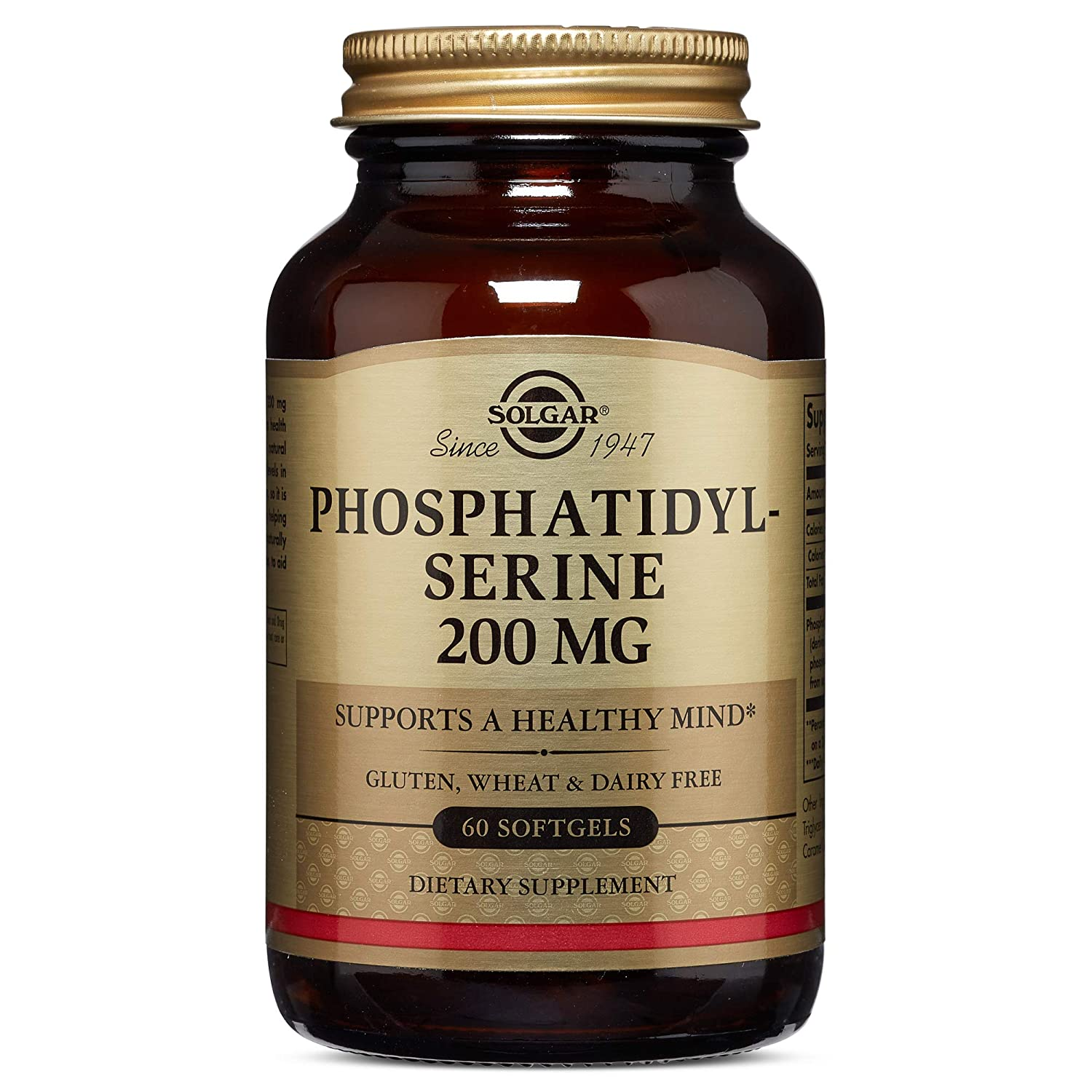 Solgar Phosphatidylserine 200 mg, 60 Softgels