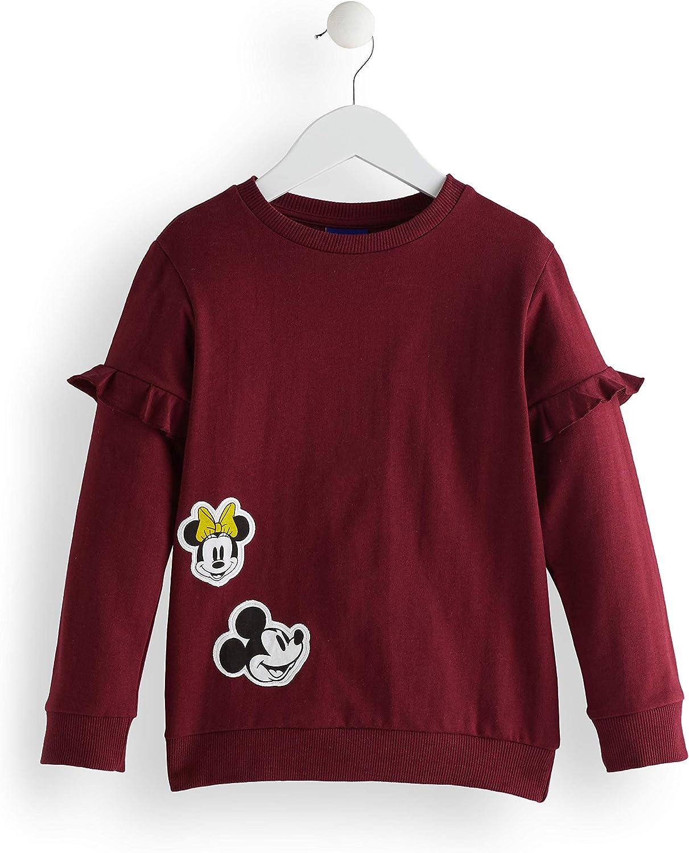 Marca Amazon - RED WAGON Sudadera Minnie Mouse Niñas: Amazon.es ...