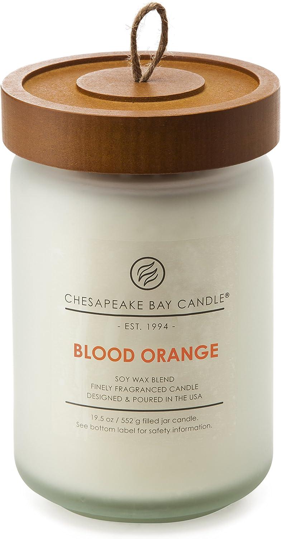 Chesapeake Bay Candle Scented Candle, Blood Orange, Large Jar