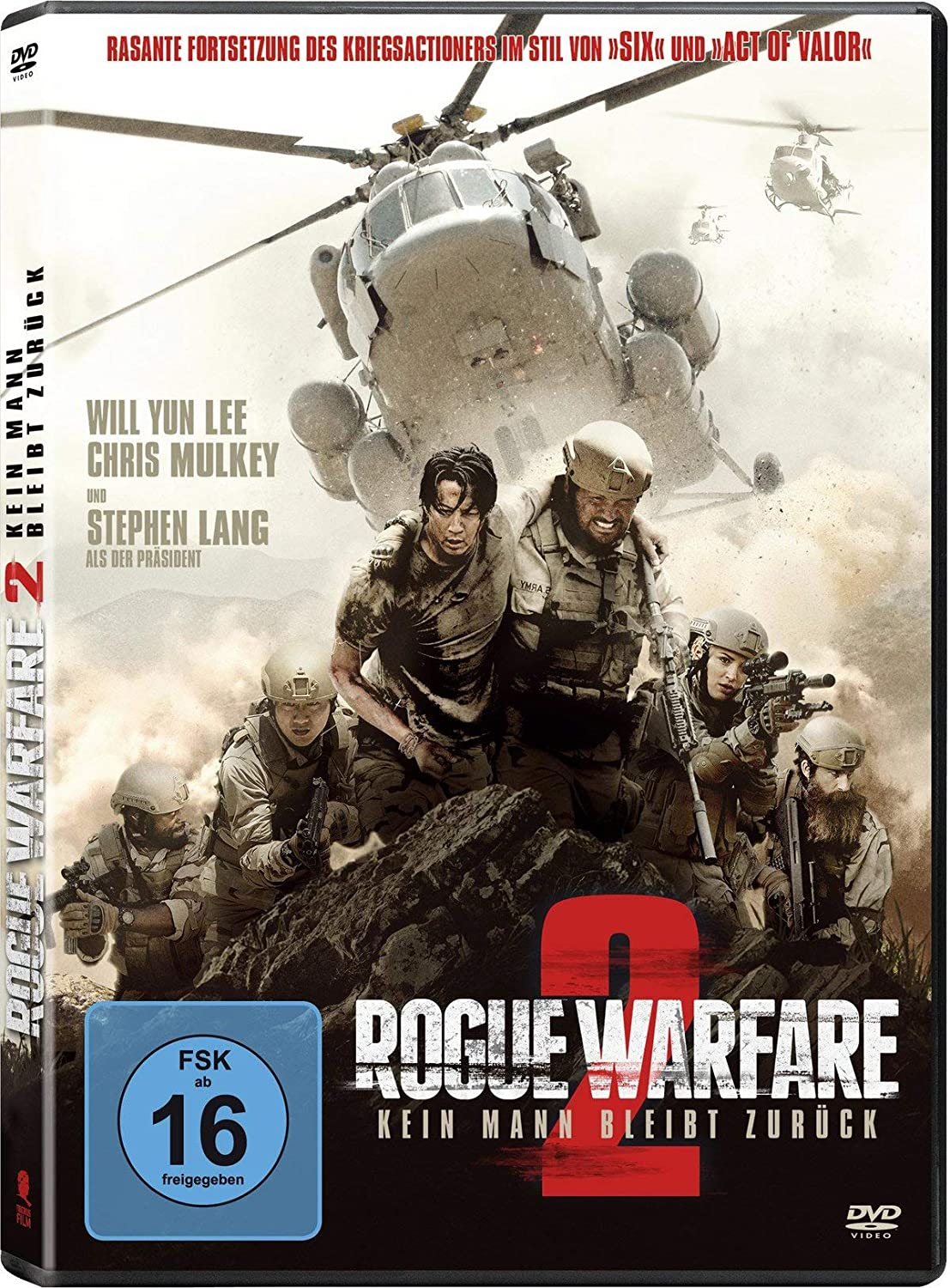 Cover: Rogue warfare 2 1 DVD-Video (circa 99 min)