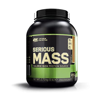 Optimum Nutrition Serious Mass Ganador, Chocolate y Mantequilla de Cacahuete - 2.73 kg