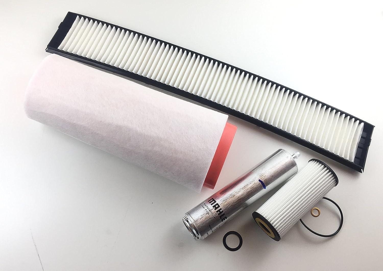 /Ölfilter Luftfilter Innenraumfilter Kraftstofffilter X3 E83 2.0 D 110 KW 150 PS Filter Set