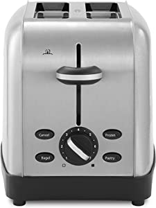 Oster 2-Slice Toaster, Silver (TSSTTRWF2S)