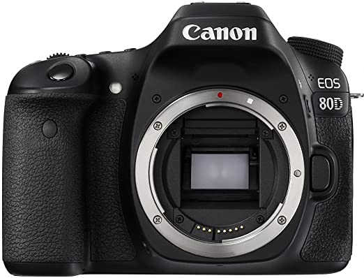 Canon EOS 80D 24.2MP Digital SLR Camera  Black  Body + Memory Card