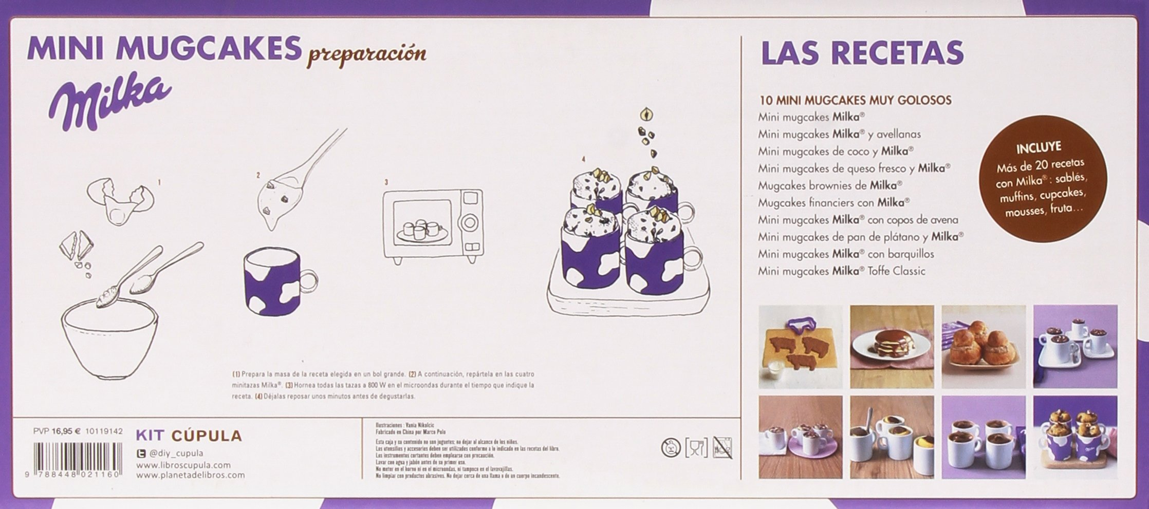 Kit Mini mugcakes Milka®: Coulants y minipasteles listos en menos de 5 minutos Kits Cúpula: Amazon.es: Claire Guignot, Parangona Realització Editorial S.L.: ...