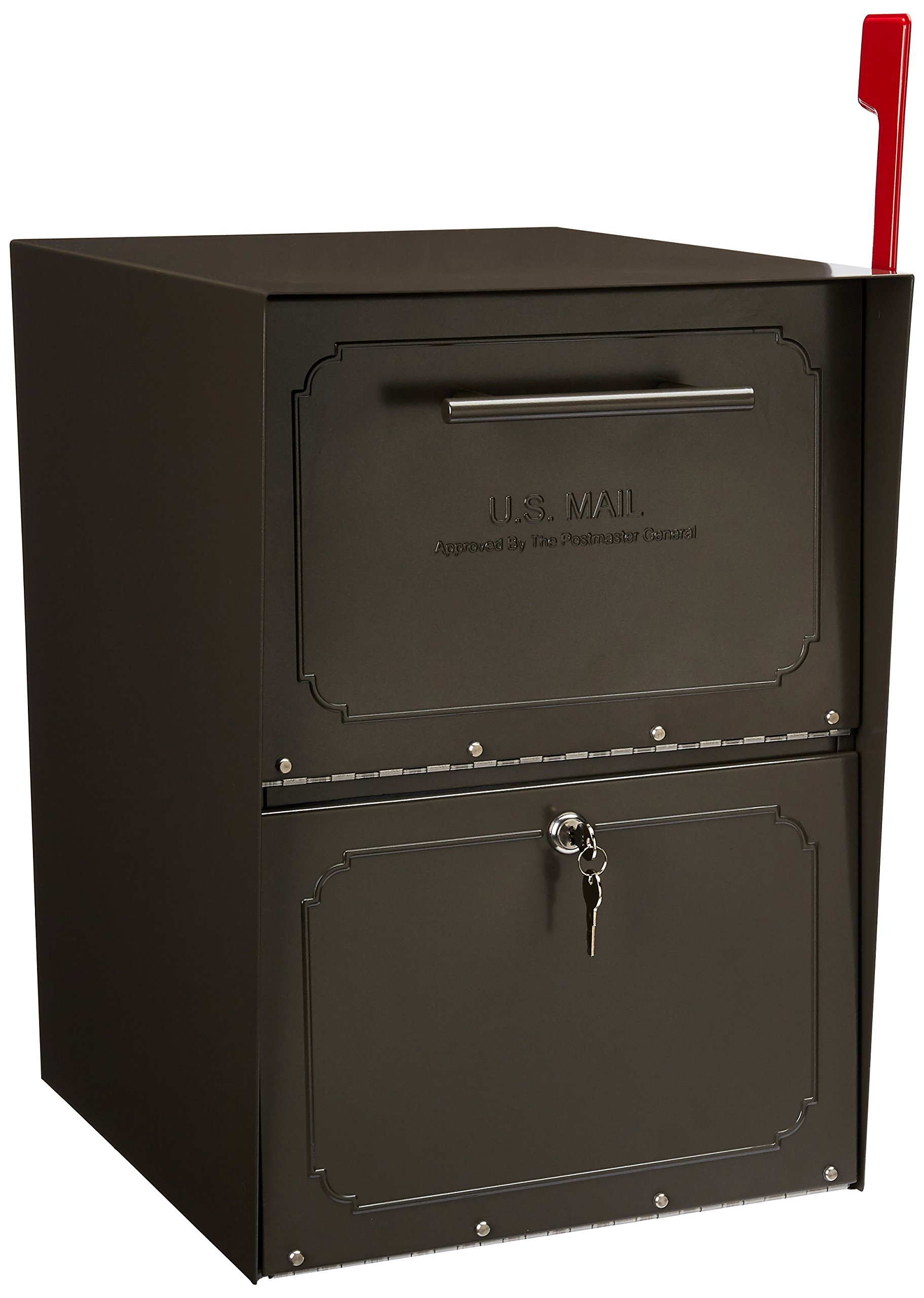 Architectural Mailboxes Oasis Mailbox, Graphite Bronze by ARCHITECTURAL MAILBOXES