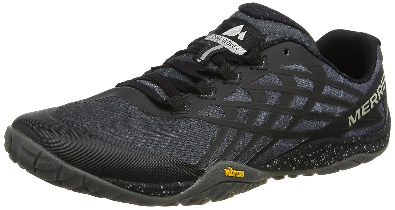 Merrell Trail Glove 4, Zapatillas de Correr para Hombre 42 EU|Negro (Space Black Space Black)