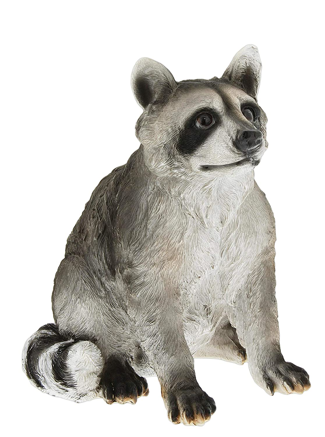 Distinctive Designs Life-Like Resin Raccoon Statue, 11""