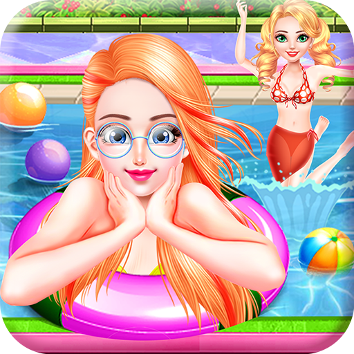 Fun Pool Party with Sun & Tanning - Fantasy game to enjoy and beat the summer heat for all Kids!