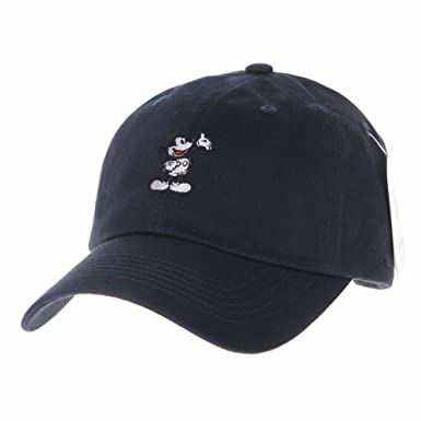 WITHMOONS Disney Mickey Mouse Baseball Cap Winter Short Suede CR1472 (Navy) 41e6184e22e