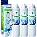 3x AH-S0B compatible pour Samsung DA29-00020B, HAF-CIN/EXP, DA97-08006A-B, DA29-00020A, filtre à eau de réfrigérateur