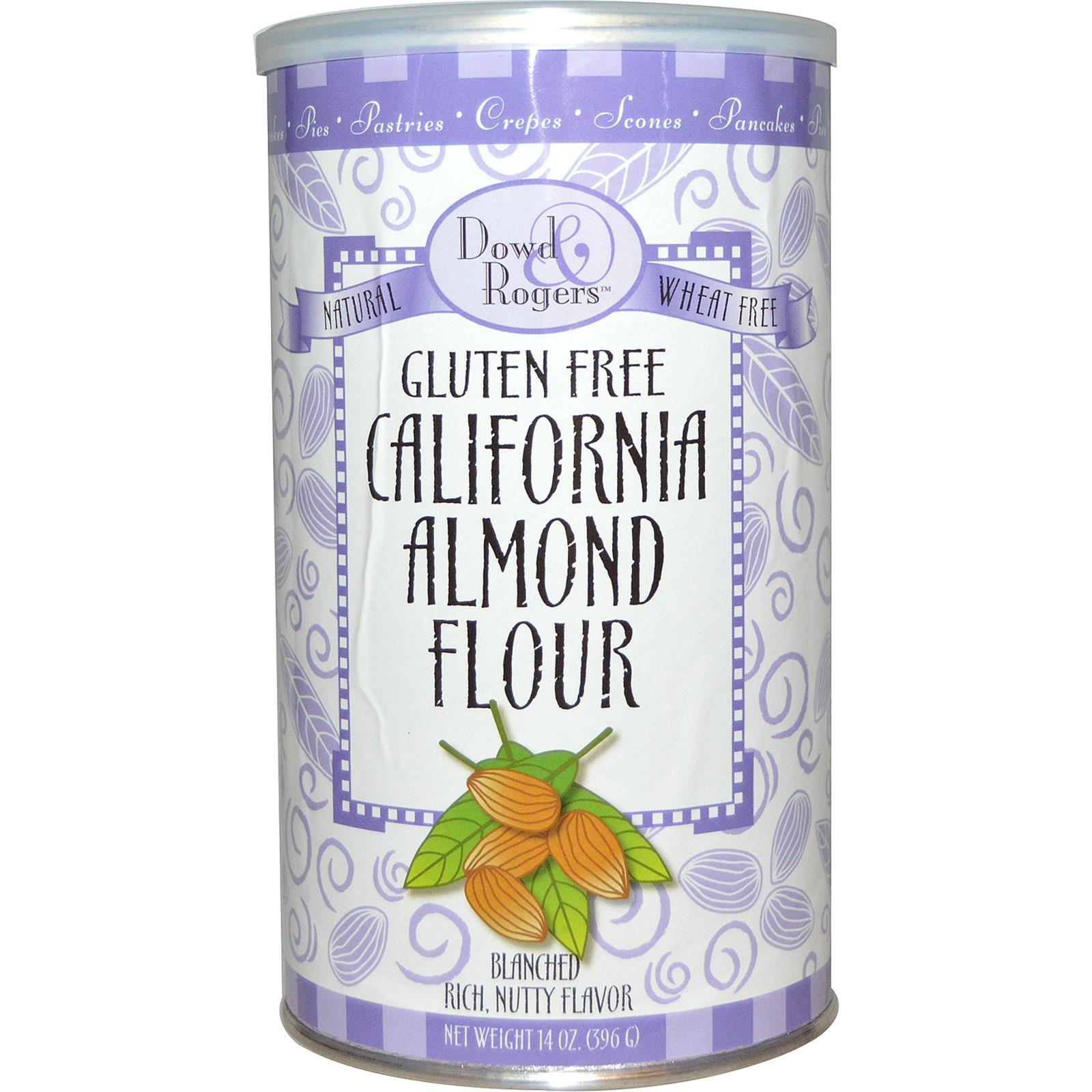 Gluten Free California Almond Flour Dowd And Rogers 14 oz Container