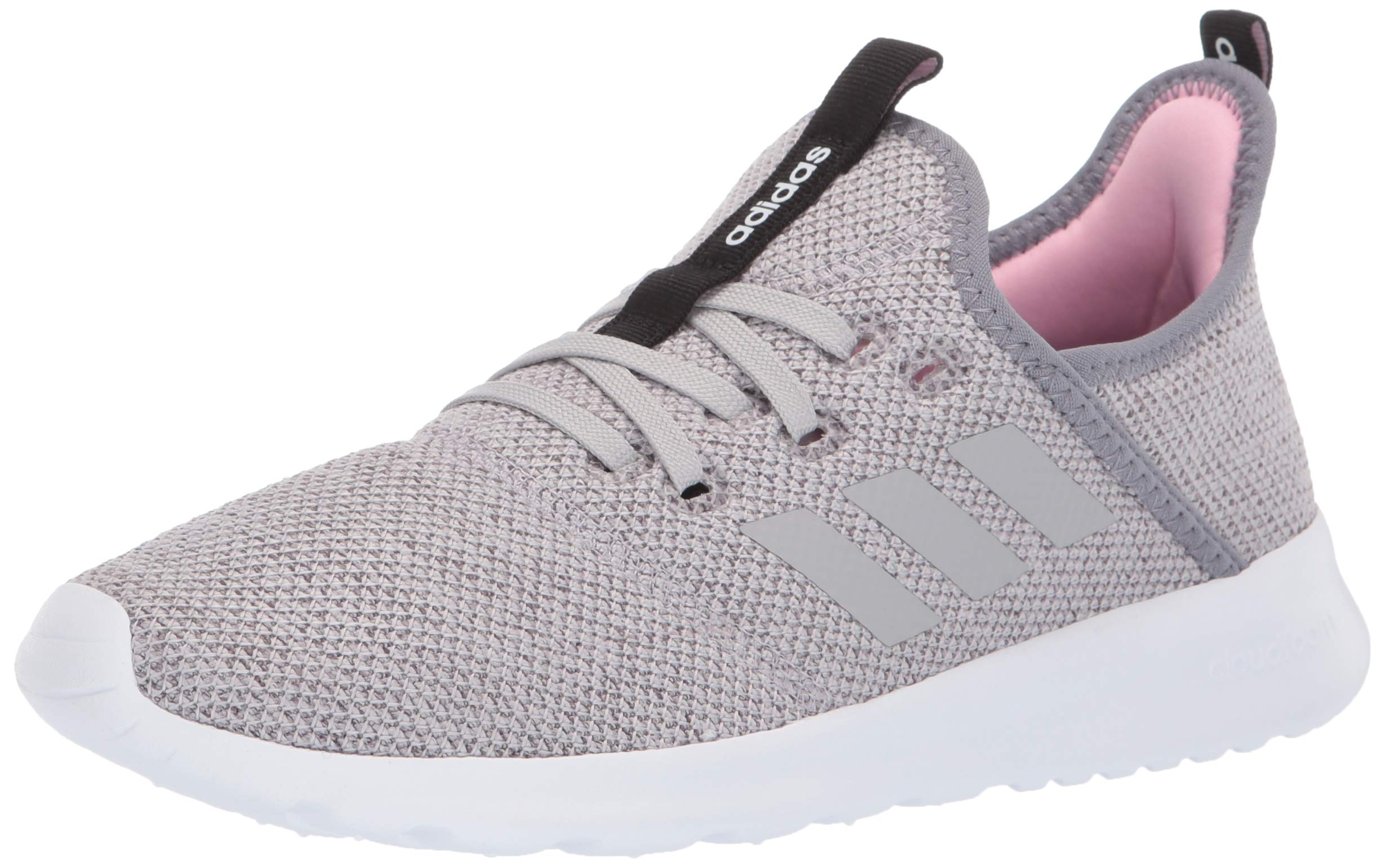 adidas Women's Cloudfoam Pure, Grey/True Pink, 5 M US by adidas (Image #1)