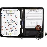 b+d - Set lavagna per allenatore di calcio con accessori