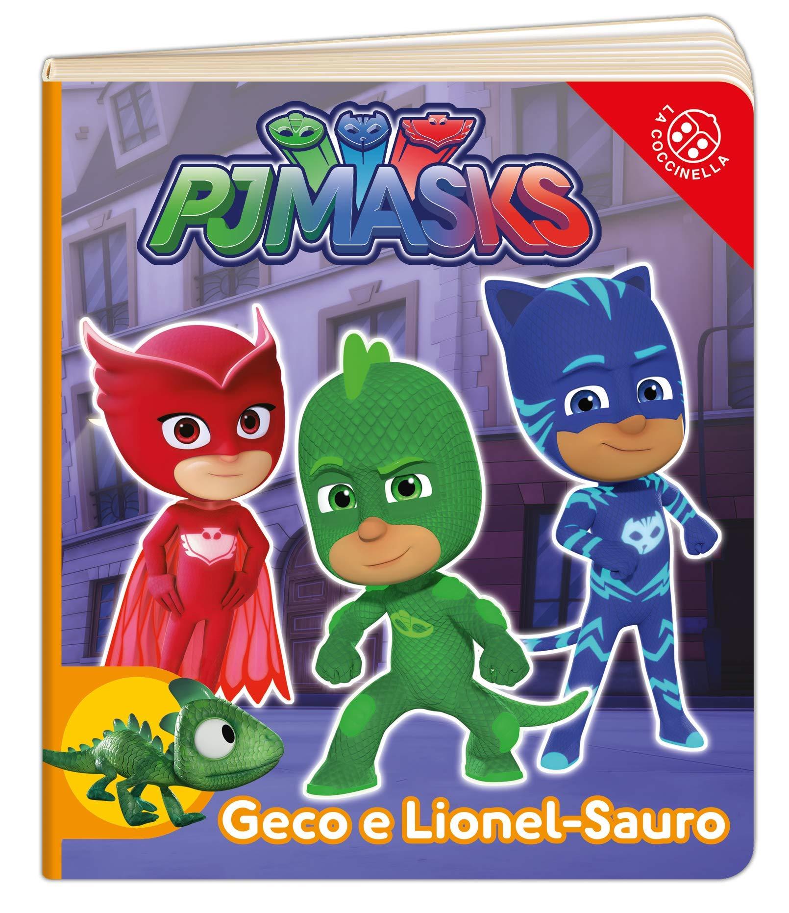 Geco e Lionel-Sauro. Pj Masks. Ediz. a colori : Amazon.es: Libros