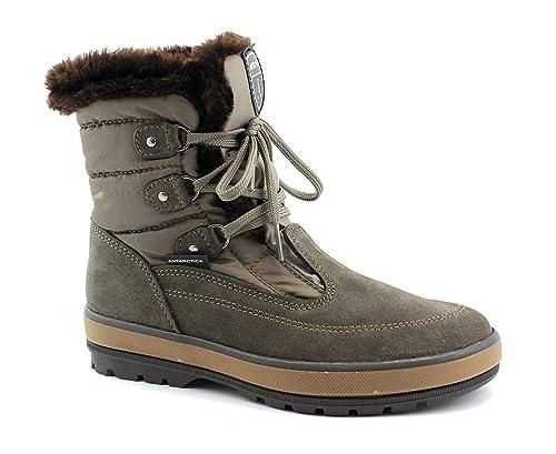 comprare on line 505b4 5f2f9 Antarctica 7510 Taupe Scarpe Donna Scarponcini Boot Doposci ...