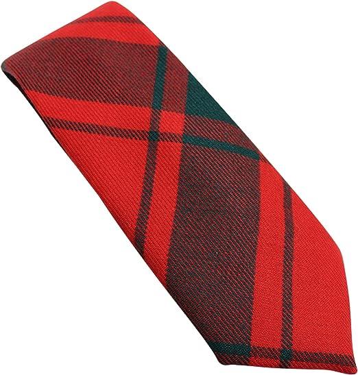 Corbata de Cuello de tartán escocés, 100% Lana, diseño de ...