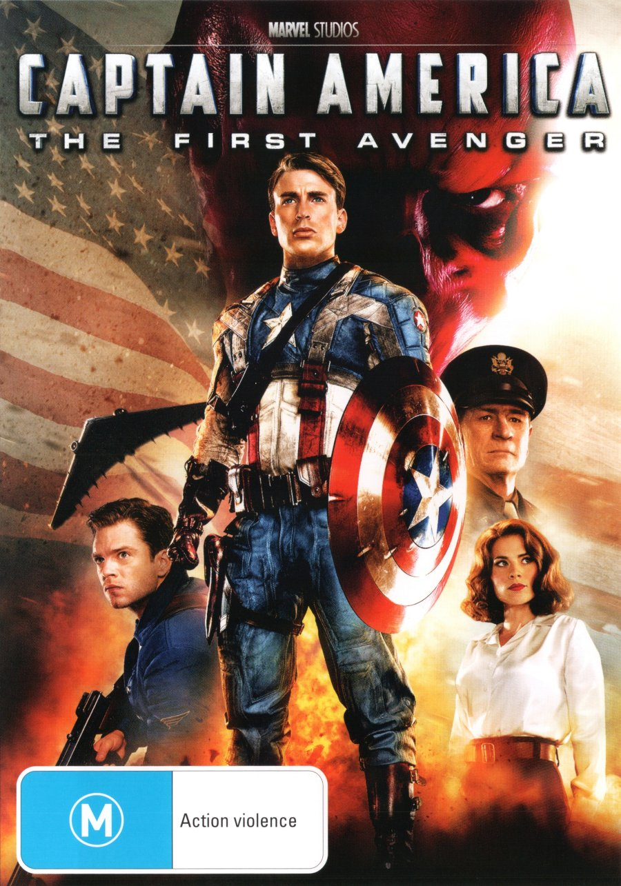 Amazon Com Captain America The First Avenger 2011 Chris Evans Tommy Lee Jones Hugo Weaving Hayley Atwell Sebastian Stan Joe Johnston Movies Tv
