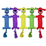 Multipet LOOFA LAUNCHER 12 INCH DOG TOY, (Colors May Vary)