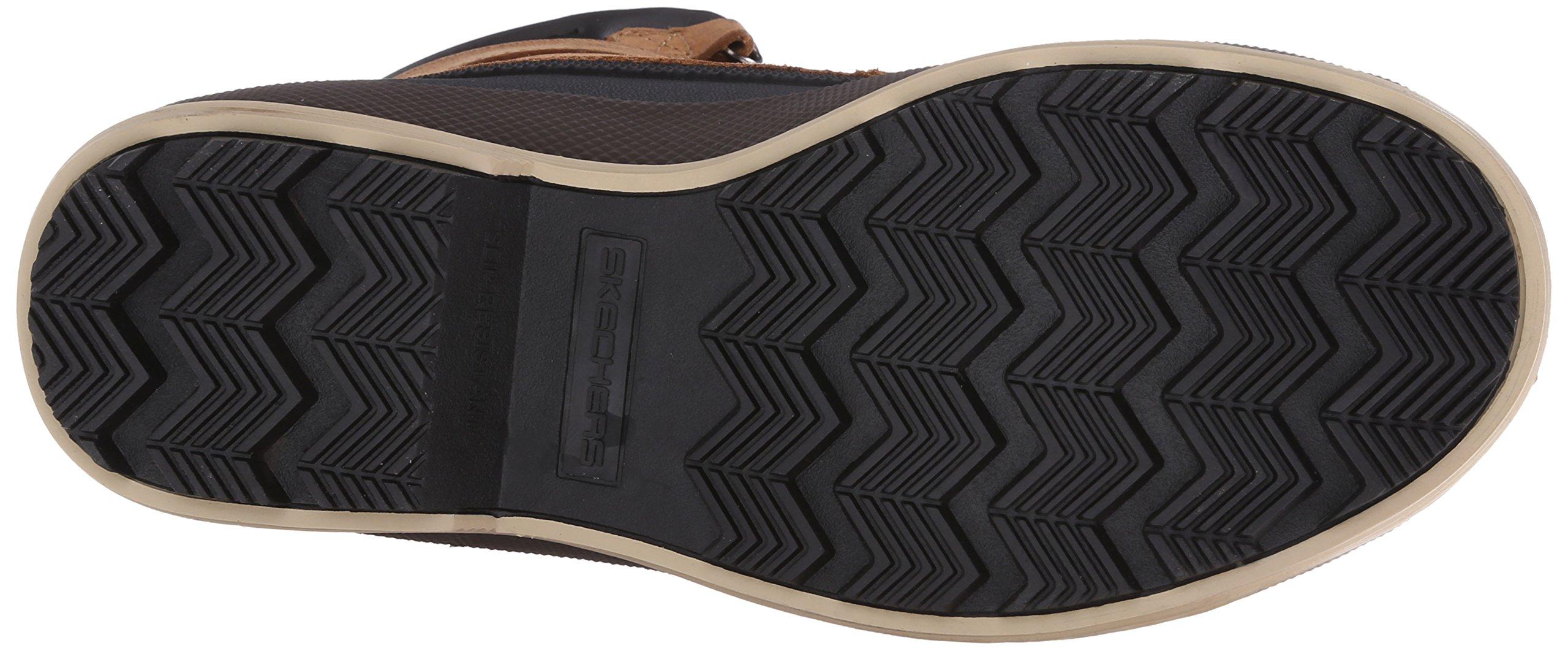 Skechers for Work Women's Duck Rain Boot, Brown, 5.5 M US by Skechers (Image #3)