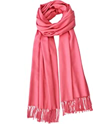 d6b92323ccec YSJ-Large infinity Soft cashmere feel pashmina shawl wrap winter scarf in  Solid Colors