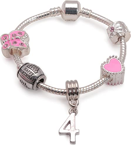 silver plate NEW SILVER /& PINK PEARL SEAHORSE CLIP-ON CHARM FOR BRACELETS