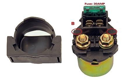 amazon com starter relay solenoid switch for honda vt500c shadow vt rh amazon com 1983 Honda VT500 Specs 1986 Honda Shadow VT500