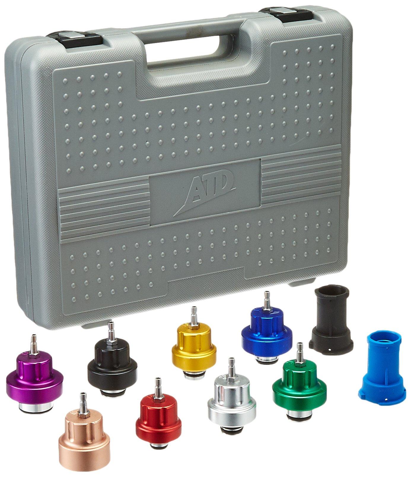 ATD Tools 3305 10-Piece Radiator Pressure Tester Update Kit