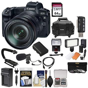 Amazon.com: Canon EOS R - Cámara digital sin espejo y lente ...