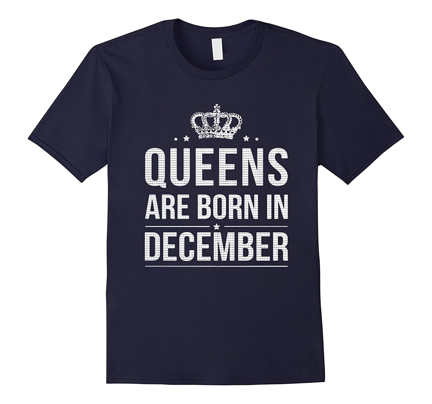 Queens are Born in December T-Shirt-Art