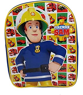 Fireman Sam Mochila infantil, multicolor (Varios colores) - SAM001045