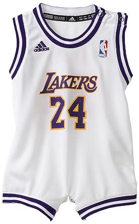 c7771601537 adidas NBA Infant Los Angeles Lakers Kobe Bryant Onesie Alternate Jersey -  R22Uukka (White